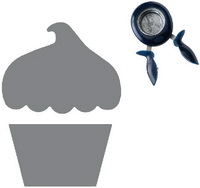 Squeeze Punch Large - Cupcake - Fiskars