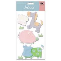 Adesivo artesanal Jolee's - Baby - Farm Animals