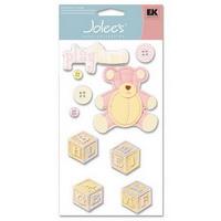 Adesivo artesanal Jolee's - Baby - Girl Toys