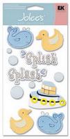 Adesivo artesanal Jolee's - Baby - Duck Whale Bubbles