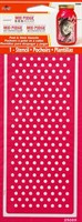 Mod Podge Rocks - Peel & Stick Stencil - Dot Pattern