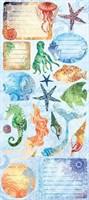 """Creative Imaginations - Oceana 5x12"""" Cardstock Stickers"""