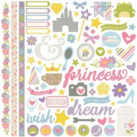"Enchanted Fundamentals Cardstock Stickers 12x12"" - Simple Stories"