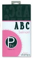Foam Stamps - ABC Belmont - Pebbles