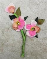 Flower Embellishments - Darling Flowers 534660 - Prima