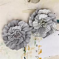 Prima Flowers - Ascot Park - Pewter