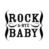 "Carimbo de madeira - 2x2"" Rock A-Bye Baby - American Crafts"