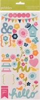 Sunnyside Accent & Phrase Stickers - Pebbles Inc.