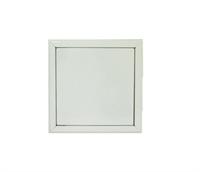 Alçapão metal branco  60 x 60 cm