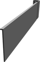 Platina de reforço 60 x 20 cm