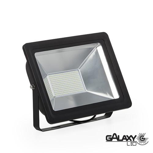 Holofote Refletor Galaxy Led Ip65 100w 6000k Bivolt - 140101019