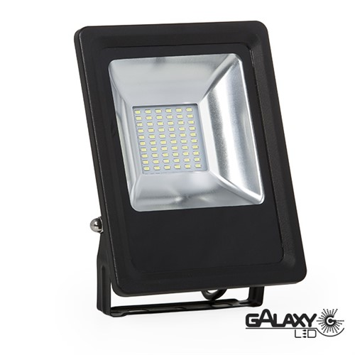 Holofote Refletor Galaxy Led Ip65 30w 6000k Bivolt - 140101007