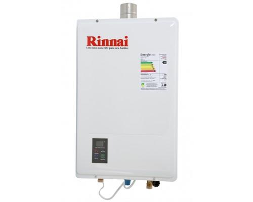 Aquecedor de Água Rinnai a Gas 22,5 Litros Bivolt - 1602gn