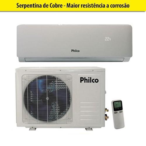 Split Philco Inverter 9000 btu's 220V Quente/Frio