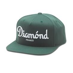 BONÉ DIAMOND CHAMPAGNE SNAPBACK GREEN
