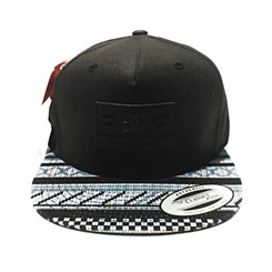 BONÉ DC SHOE TEXTURE STRAPBACK IN BLACK