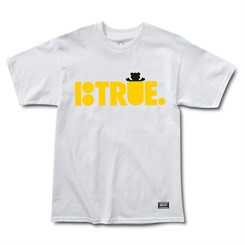 CAMISETA GRIZZLY x PLAN B TRUE IN WHITE