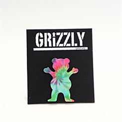 Broche Grizzly Tie Dye Pin