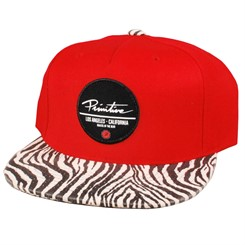 BONÉ PRIMITIVE SNAPBACK IN RED