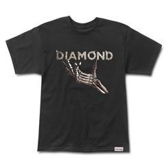 CAMISETA DIAMOND STYX & STONES IN BLACK