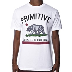 CAMISETA PRIMITIVE CULTIVATED IN WHITE