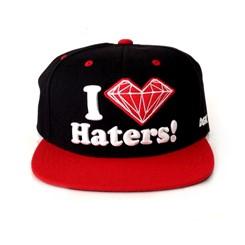 BONÉ DGK SNAPBACK LOVE HATERS x DIAMOND
