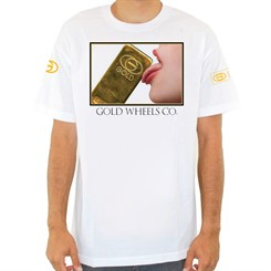 CAMISETA GOLD LICK IT IN WHITE