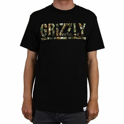 CAMISETA GRIZZLY T-PUDS KUSH TEE BLACK