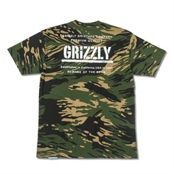 CAMISETA GRIZZLY GENERAL ISSUE TEE IN CAMO