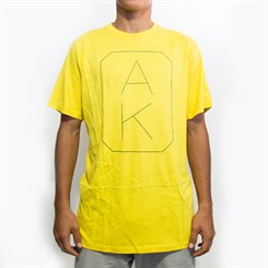 Camiseta FourStar Thinline AK Amarela