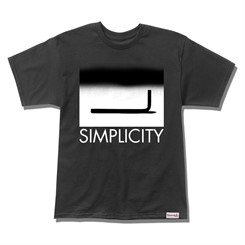 CAMISETA DIAMOND SIMPLICITY KEY IN BLACK