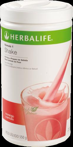 Shake Herbalife - Morango Cremoso