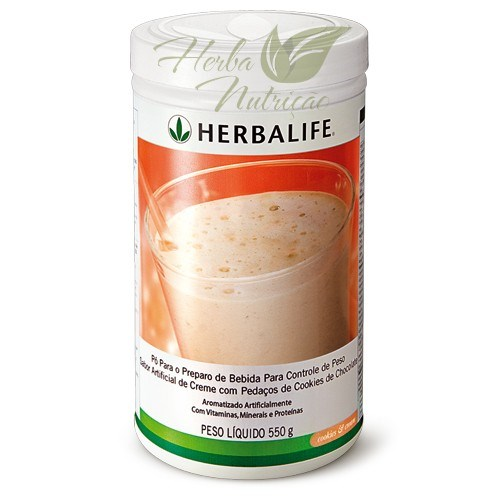 Shake Herbalife Cookies and Cream- 550g - 21 Porções.