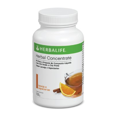 Chá Herbal Concentrate Laranja e Especiarias - 100g (NOVO)