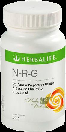 N.R.G - Chá Preto e Guaraná em Pó 60g - Bebida