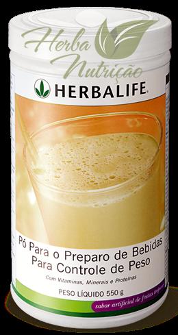 Shake Herbalife Frutas Tropicais - 550g - 21 Porções.