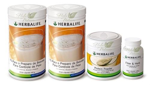 Herbalife Programa Fiberbond + Protein Powder