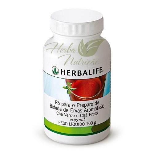 Chá Herbalife Thermojetics Original 100g - 59 porções