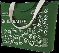 Herbalife ecobag verde