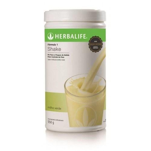Shake Herbalife Milho Verde - 550g - 21 Porções.