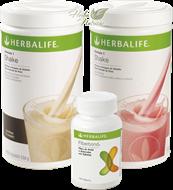 Programa A - Básico Fiberbond (2 Shake Herbalife + 1 FiberBond)