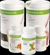 Programa C - Total Fiberbond (2 Shake Herbalife + 1 Fiberbond + 1 Chá Thermojetics 100g + 1 Multivitaminas e Minerais)