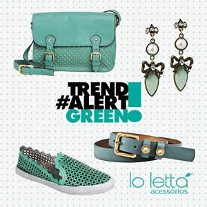 TREND ALERT: GREEN!