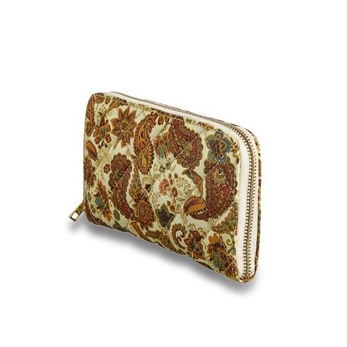 Cód.: 1800 - Carteira Textille - Cashmere