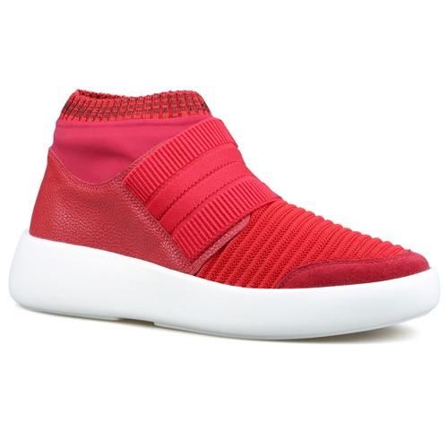 Cód.: 5096 - Tênis Boot Malha - Vermelho