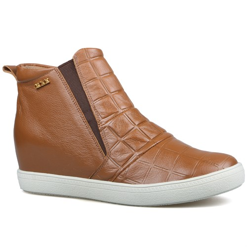 Cód.: 5101 - Tênis Boot Square - Caramelo