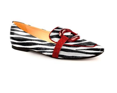 Cód.: 5299 - Mocassim Animal Print - Zebra