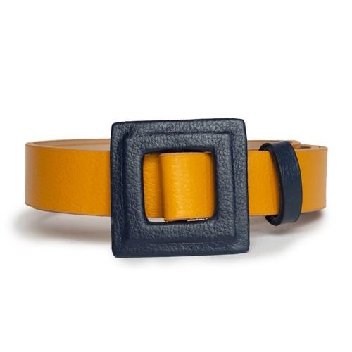 Cód.: 5301 - Cinto Drito Duo - Amarelo