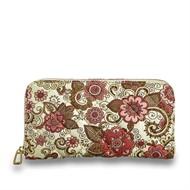 Cód.: 1800 - carteira Textille - Floral