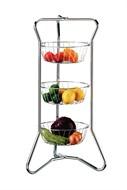 Fruteira Cromada Frutta e Verdure 3 Cestos Future - 242